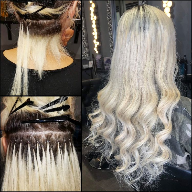 Tiny Tip hair extensions by Carla