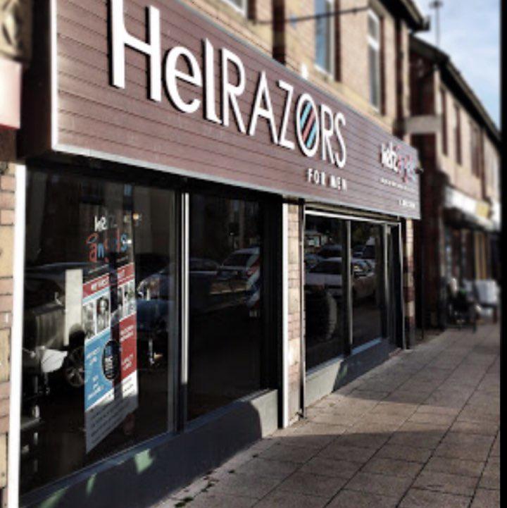 Barber Shop - HelRazors