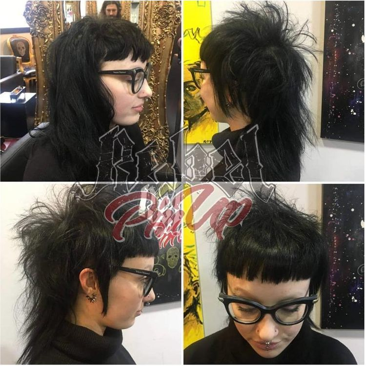 Restyle -  alternative, disconnected, Rock n Roll mullet