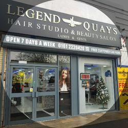 Legend Quays Barber Shop, Unit 2B, Trafford Road, Salford Quays, Free Customer Car Park At The Rear, M5 3AW, Salford