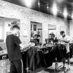 Dog house modern barbers