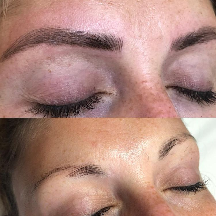 Microblading Before + After £200