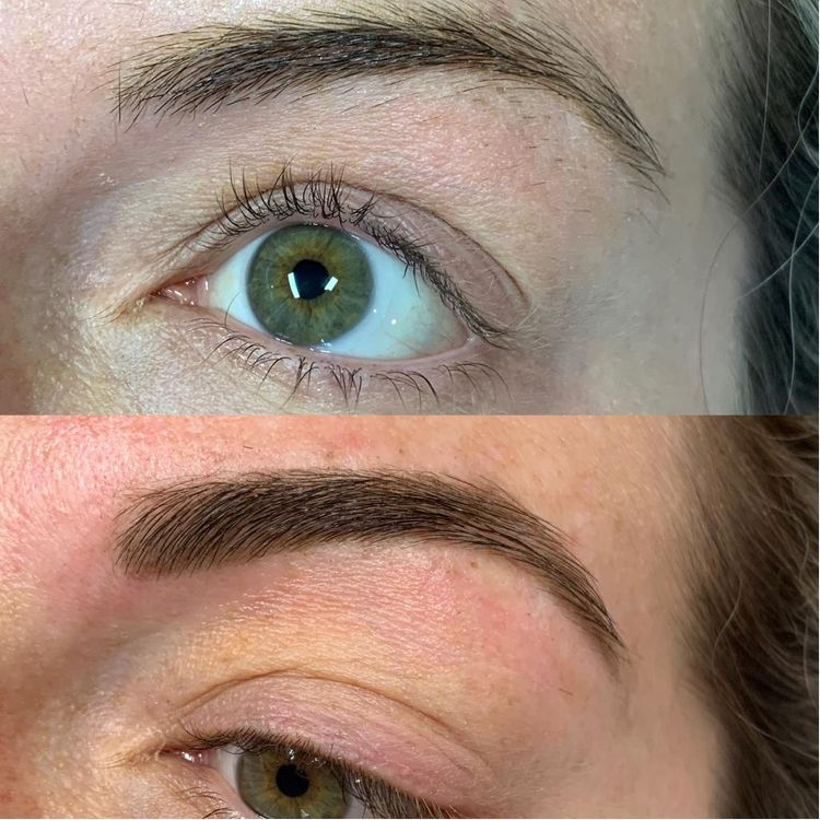 HD Brows Before + After